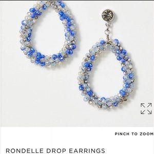 NWT Loft Rondelle Drop Earrings